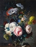 Stuart Scott Somerville, Still lifes of flowers on a table