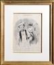 Honoré Daumier, Le Mardi Gras from Les Beaux Jours de la Vie, Plate 18