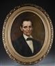 William Morris Hunt, Portrait of Lincoln