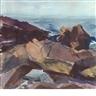 John Whorf, Coastal Rocks