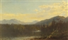 James McDougal Hart, A LAKE IN THE MOUNTAINS