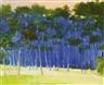 Wolf Kahn, VERY BLUE