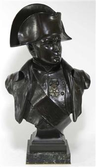 Bust of napoleon By Eugène Marioton