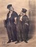 Honoré Daumier, 4 Works: Justice
