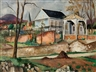 Friedrich Ahlers-Hestermann, Landscape with Pavilion