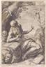 Hendrick Goltzius, Saint Jerome in the wilderness