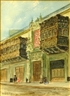 Louis Comfort Tiffany, Architectural Street Scene