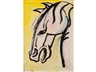 Sven Berlin, A study of a horses head