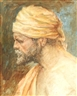 Louis Comfort Tiffany, Orientalist Portrait of a Man