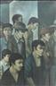 Diego Rivera, La Greve