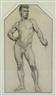 David Wu Ject-Key, Standing Male Nude