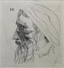 Leonard Baskin, Portrait of Peter Breughel