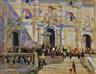 James Le Jeune, Pitti Palace - Florence