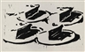 Wayne Thiebaud, Four Cut Pies