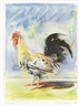 Wayne Thiebaud, Rooster from The Physiology of Taste
