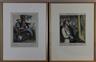 Honoré Daumier, 2 Works: Les Artistes; Les Moments Difficiles de la Vie