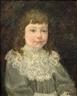 Henri Lebasque, PORTRAIT D'ENFANT A LA COLLERETTE BLANCHE