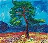 Inge Schiöler, Träd på stranden