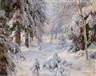 Ivan Avgustovich Veltz, Winter Sun