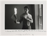 Duane Michals, He burned the letter that brought him
