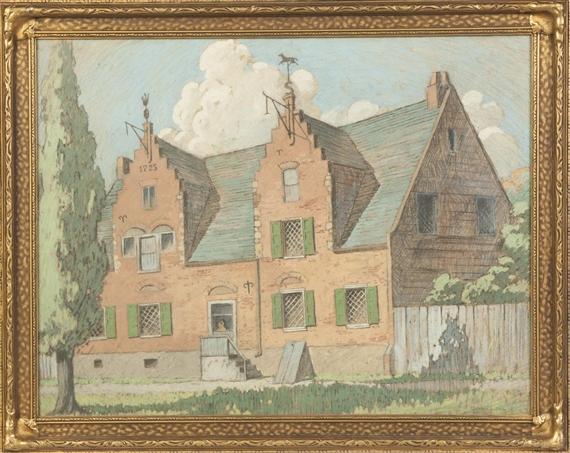 John Wenrich | 2 Works : Vanderhill House, Albany, NY