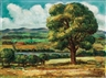 John Steuart Curry, Country Landscape