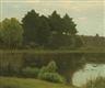 Charles Warren Eaton, Oaks Pond, Bloomfield, New Jersey
