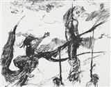 Sketch for a Fabulous Tale, from Skowhegan portfolio no. 1