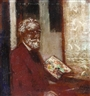 James Ensor, Self-Portrait