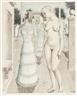 Paul Delvaux, La robe du dimanche