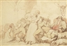 Thomas Rowlandson, The hunt breakfast