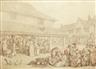 Thomas Rowlandson, Waltham Abby (sic) Market