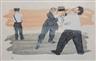 Ben Shahn, Laissez Faire or the Strike Breakers