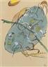 Wassily Kandinsky, Entwurf zu Blauer Fleck