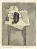 Jacques Villon, La table au tampon noir