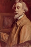 Emile Bernard, Autoportrait, Oeuvre Double Face: Portrait De Sainte Thérèse De Lisieux