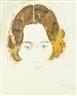 Max Pechstein, Porträt einer Frau