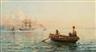 Hamilton Macallum, Emigrant ship leaving Home