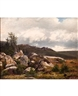 Ivan Avgustovich Veltz, Landscape with Boulders