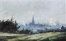 Roy Petley, Landscape with church steeple