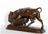 Isidore Bonheur, Bear and Bull