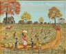 Almarie Little, Figures harvesting cotton