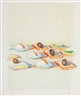 Wayne Thiebaud, Appetizers (from The Physiology of Tasteseries)