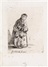 Rembrandt van Rijn, Beggar Woman Leaning on a Stick