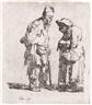 Rembrandt van Rijn, Beggar Man and a Beggar Woman Conversing