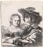 Rembrandt van Rijn, Self Portrait with Saskia