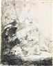 Rembrandt van Rijn, The Small Lion Hunt