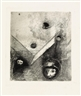 Odilon Redon, Two prints from