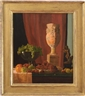 John Frederick Peto, Still Life with Fruit, Vase and Statuette