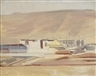 David Bomberg, Irrigation, Zionist Development, Palestine